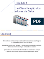 Cap.1 - Introducao e Classificacao - Trocadores de Calor