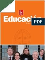 Folleto carreras del área de la Educación