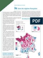 Suicide Regions Françaises