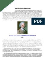 Jean Jacques Rousseau Vida