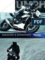 Triumph 2011 Roadsters and Super Sports