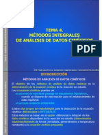 Metodos Para Analisis de Datos Cineticos