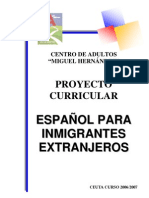P.curricular ELE