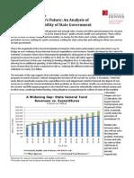 Phase 2 Summary of Financing Colorado's Future