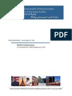 Official Mass. Audit Report