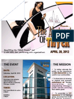"""Sponsorship Packet - ThYck Troupe™ """"THE ABSTRACT OF THYCK"""" - 2012"""