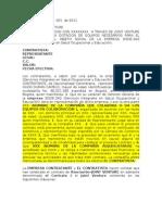 Contrato de Colaboracion rial Victor Hugo Jont Venture