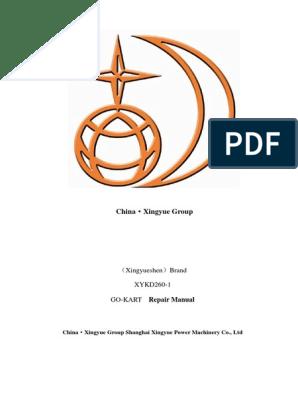 Xingyue SportsBugg XYKD260-1 Repair Manual | Carburetor