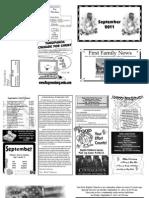 FBC Newsletter September 2011