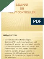 Seminar on Fuzzy Controller