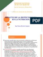 Impacto de La Biotecnologia en La Nutricion