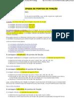 NESMA_ Contagem Antecipada de Pontos de Função (Early FPA Counting)
