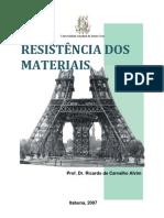 Resistência dos Materias - Cap 1 - Notas de Aula