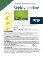 Weekly Update 2011.1.9
