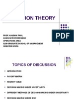 Decision Theory Final