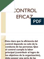 Control Eficaz