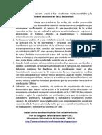 Declaración Pública MUI UC ante el desalojo de Humanidades y la situación del movimiento estudiantil en la UC