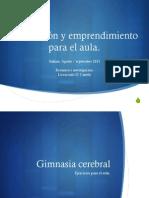 Innovacion y Gimnasia Cerebral1