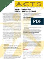 Buenas prácticas en relación con la Legionella y la enfermedad del legionario