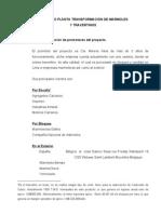 Proyecto Planta Trans for Mac Ion de Marmoles