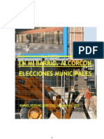 En mi barrio. Alcorcón. Elecciones