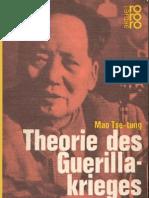 Mao Tse-Tung - Theorie Des Guerillakrieges