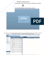 Manual Do Zimbra Desktop