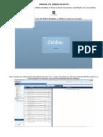 Manual Do Zimbra Desktop