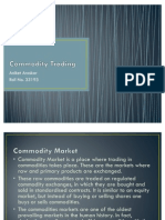 Commodities Trading