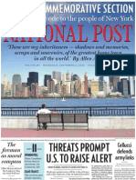 The Post's September 11, 2002 commemorative issue