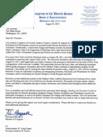 2011-08-31 Letter to POTUS Disaster Declaration