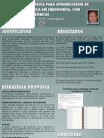 SBPqO 2011 - Estratégia pedagógica para aprendizagem de Medicação Sistêmica em Endodontia, com ferramentas eletrônicas
