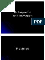 Orthopaedic Terminologies