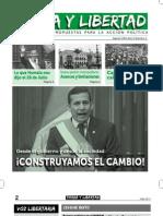 Periodico Tierra y Libertad Nro 1