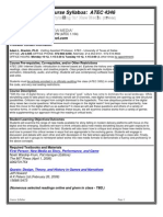 UT Dallas Syllabus for atec4346.001.11f taught by Adam Brackin (alb032000)