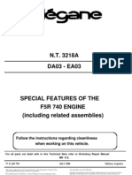 Special Features of the f5r 740 Engine
