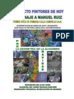 Cartel Manuel Ruiz