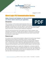 TechCorner 21 - Communications