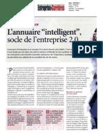 Article Entreprise Et Carrieres_2010
