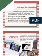 Interfaces Web e Usabilidade