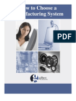 How to Choose a Manufacturing System