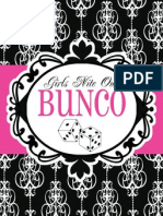 Shindig Parties Bunco Freebie