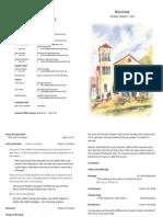 Bulletin 08-07-11