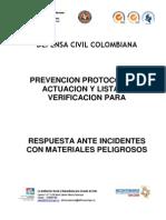 Protocolo Ante Incidentes Con Matpel