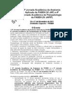 VI JAF e IV JAFIP - Edital Geral