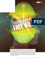 TAKING AIM AT FREE WILL