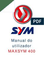 Manual da Maxisym 400