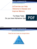 Mental Exercise Prevent Alzheimer Disease