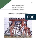 Lenguaje e Investigación