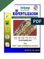 Memorias biofertilizantes